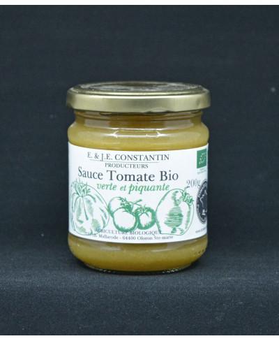 Sauce tomate verte et Piquante