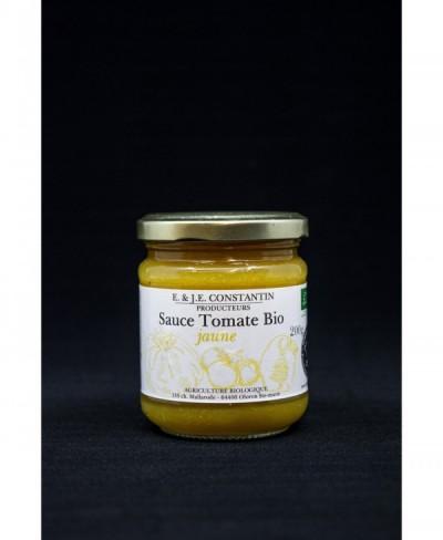 Sauce tomate jaune