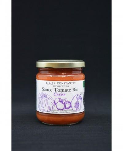 Sauce tomate cerise